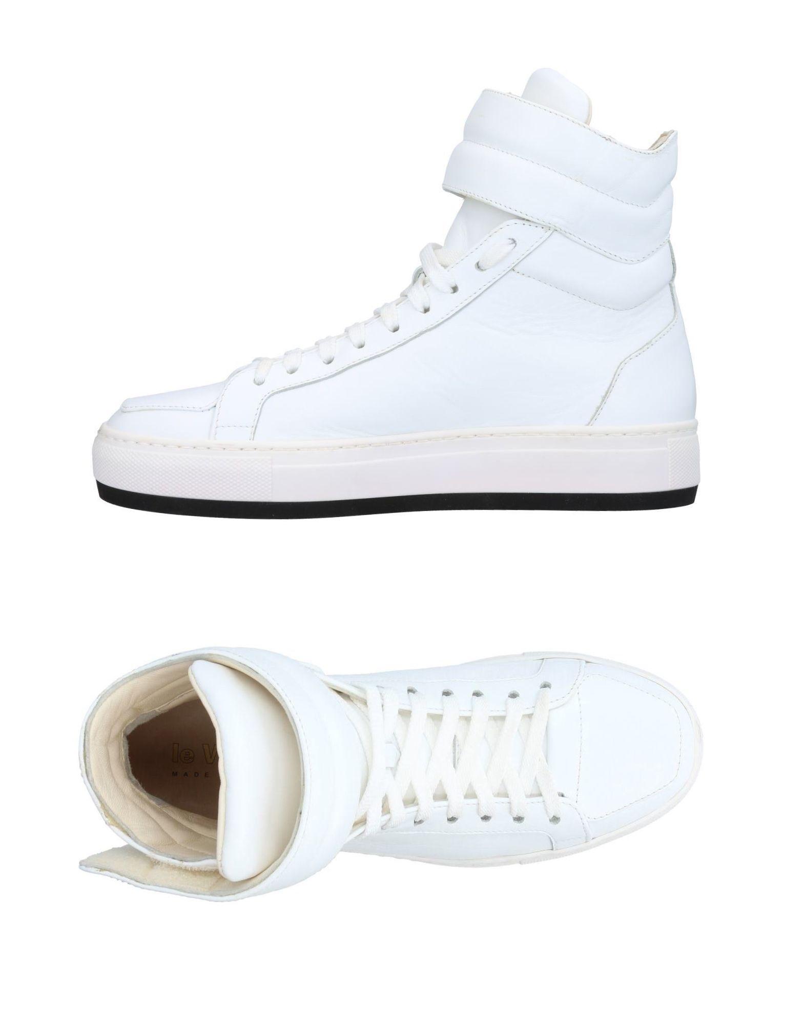 LE VILLAGE Высокие кеды и кроссовки кеды кроссовки высокие женские dc evan hi le cream