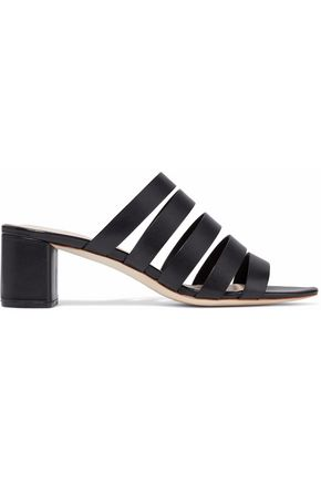 19a73946b64061 Cutout leather mules | LOEFFLER RANDALL | Sale up to 70% off | THE ...