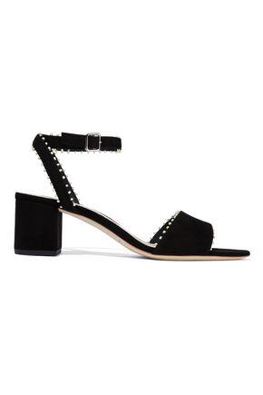 LOEFFLER RANDALL Bead-embellished suede sandals