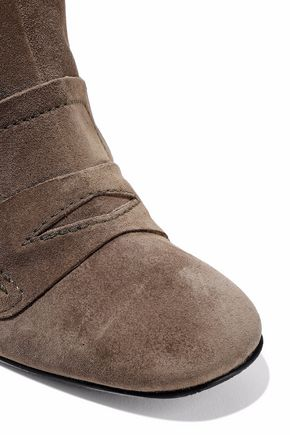 STUART WEITZMAN Moxanne suede ankle boots