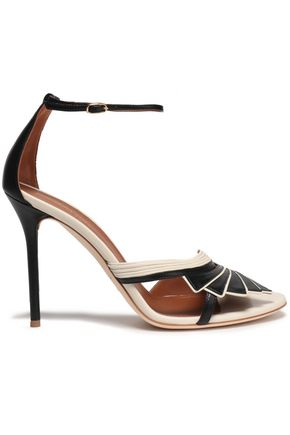 MALONE SOULIERS Cutout leather sandals