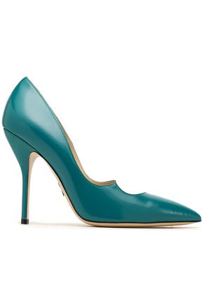 PAUL ANDREW Leather pumps
