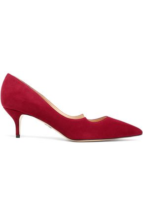 PAUL ANDREW Suede pumps