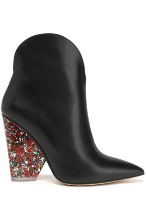 PAUL ANDREW Leather ankle boots