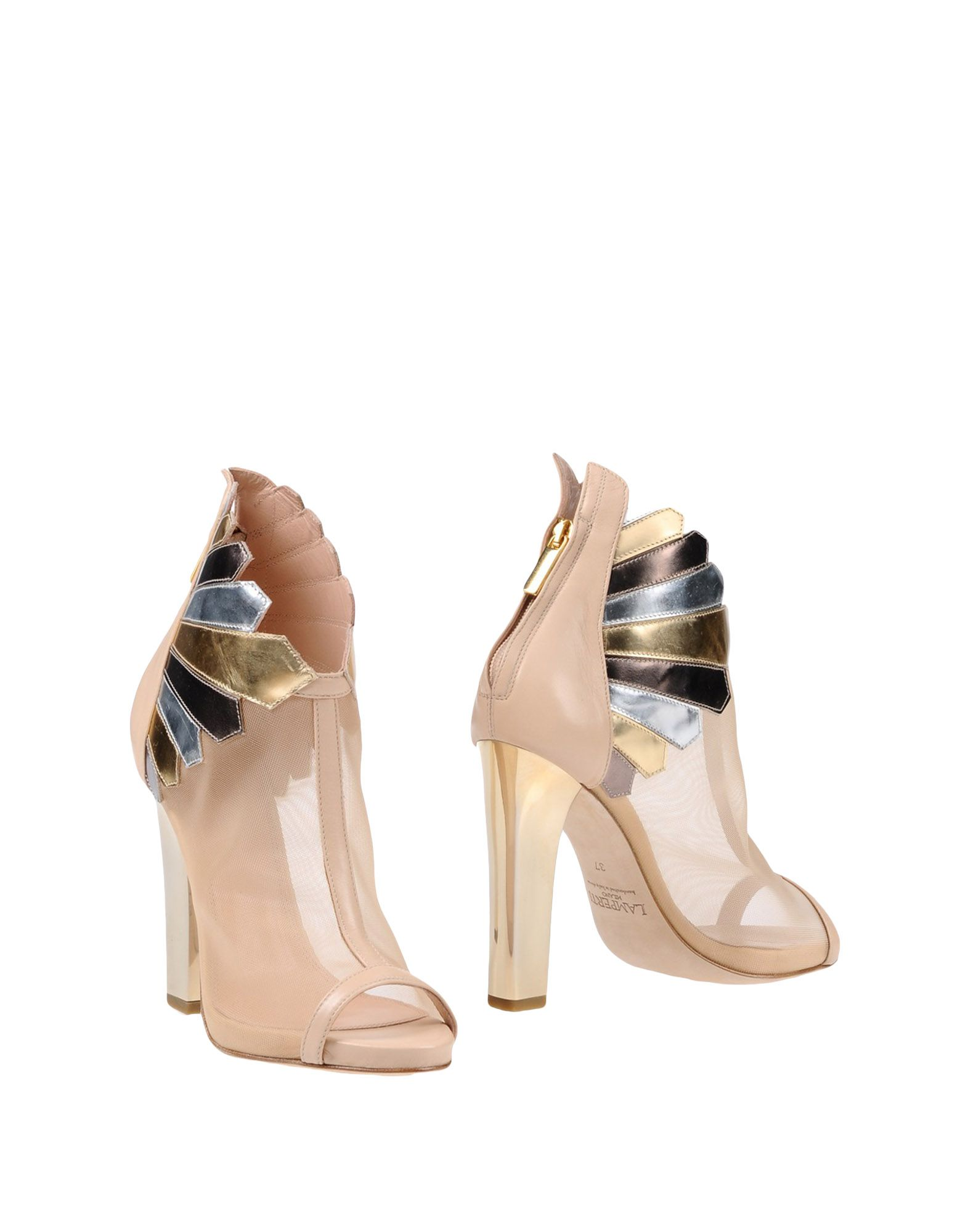 LAMPERTI MILANO Ankle Boots in Beige