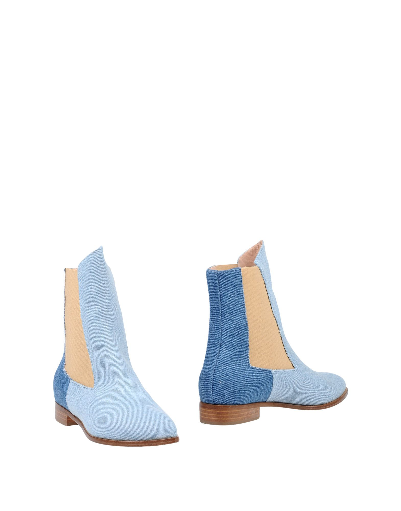 LAMPERTI MILANO Ankle Boots in Blue