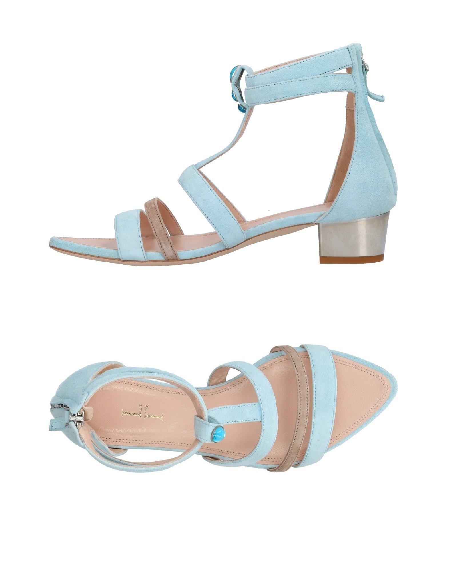 Lamperti Milano Sandals In Sky Blue Modesens