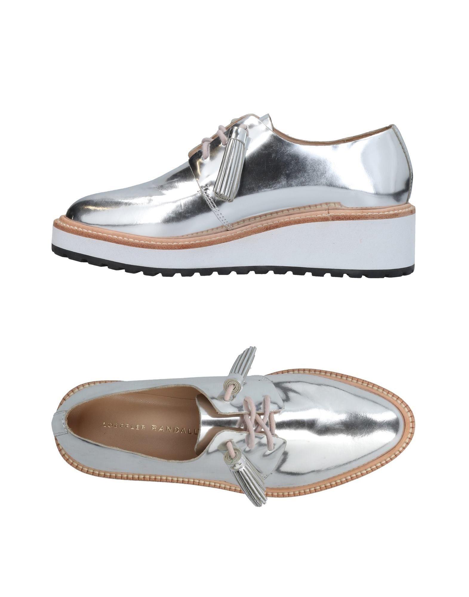 LOEFFLER RANDALL Обувь на шнурках loeffler randall women s nicola nubuck haircalf d orsay pump