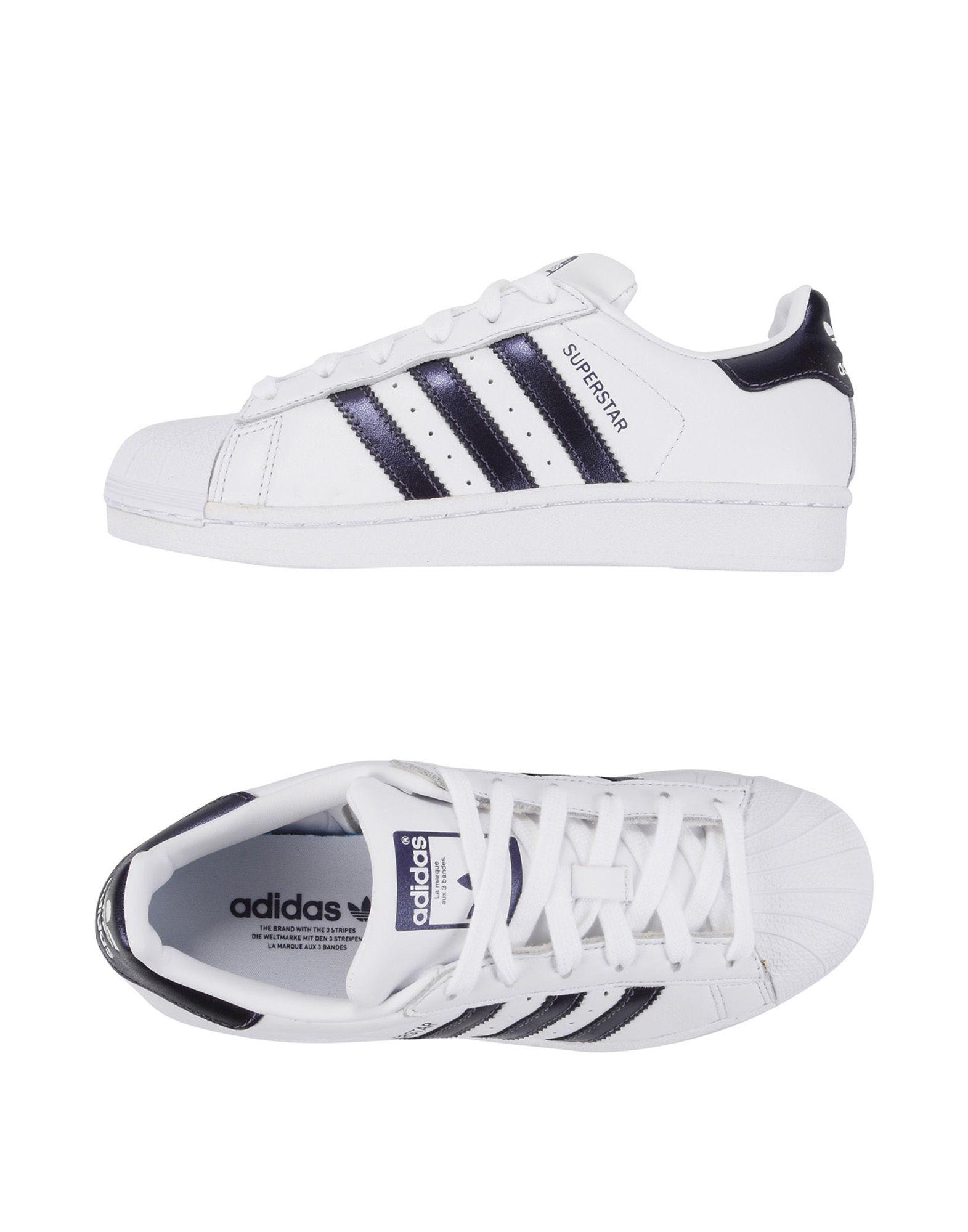 ADIDAS ORIGINALS Низкие кеды и кроссовки кеды adidas кеды superstar slipon w cblack cblack cwhite