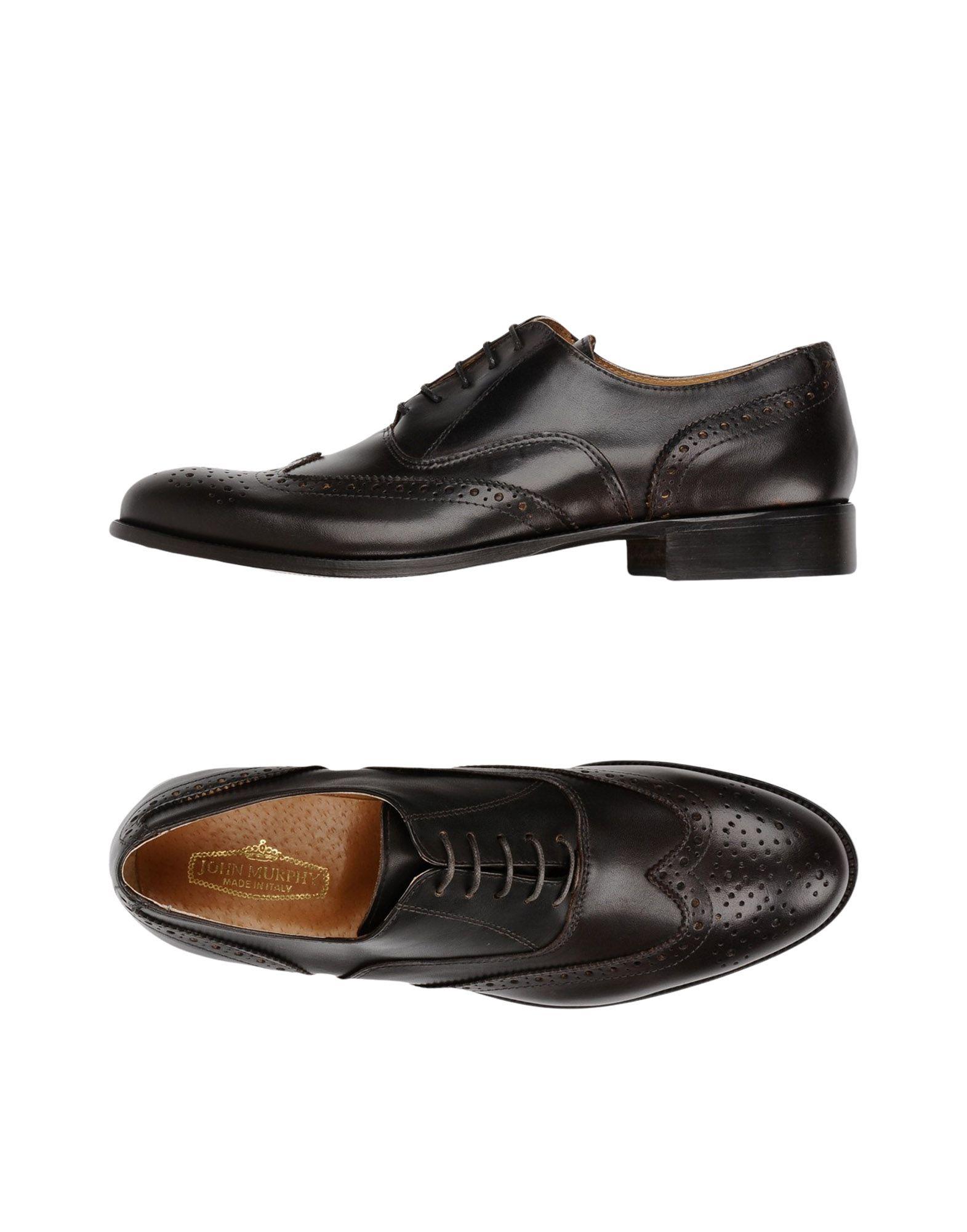 JOHN MURPHY Обувь на шнурках цены онлайн