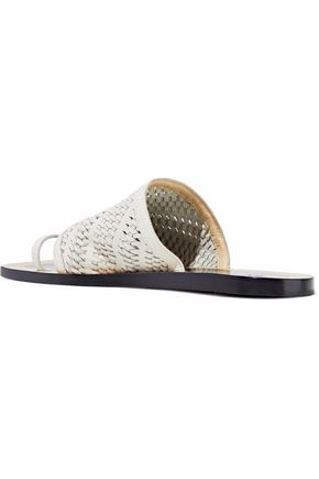 RAG & BONE Woven leather sandals