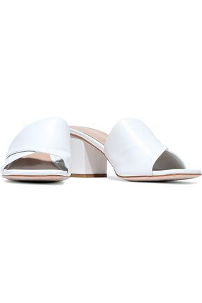 OPENING CEREMONY Leather mules