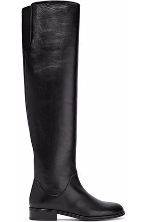 STUART WEITZMAN Rockerchic leather over-the-knee boots