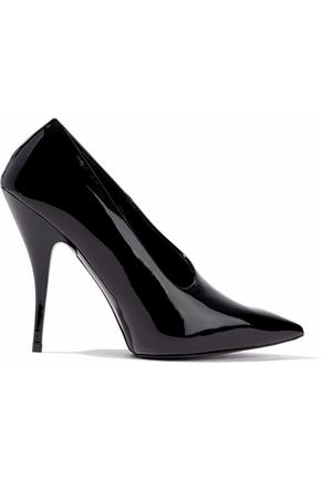 STELLA McCARTNEY Faux patent-leather pumps