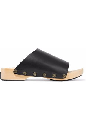 OPENING CEREMONY Studded leather clogs