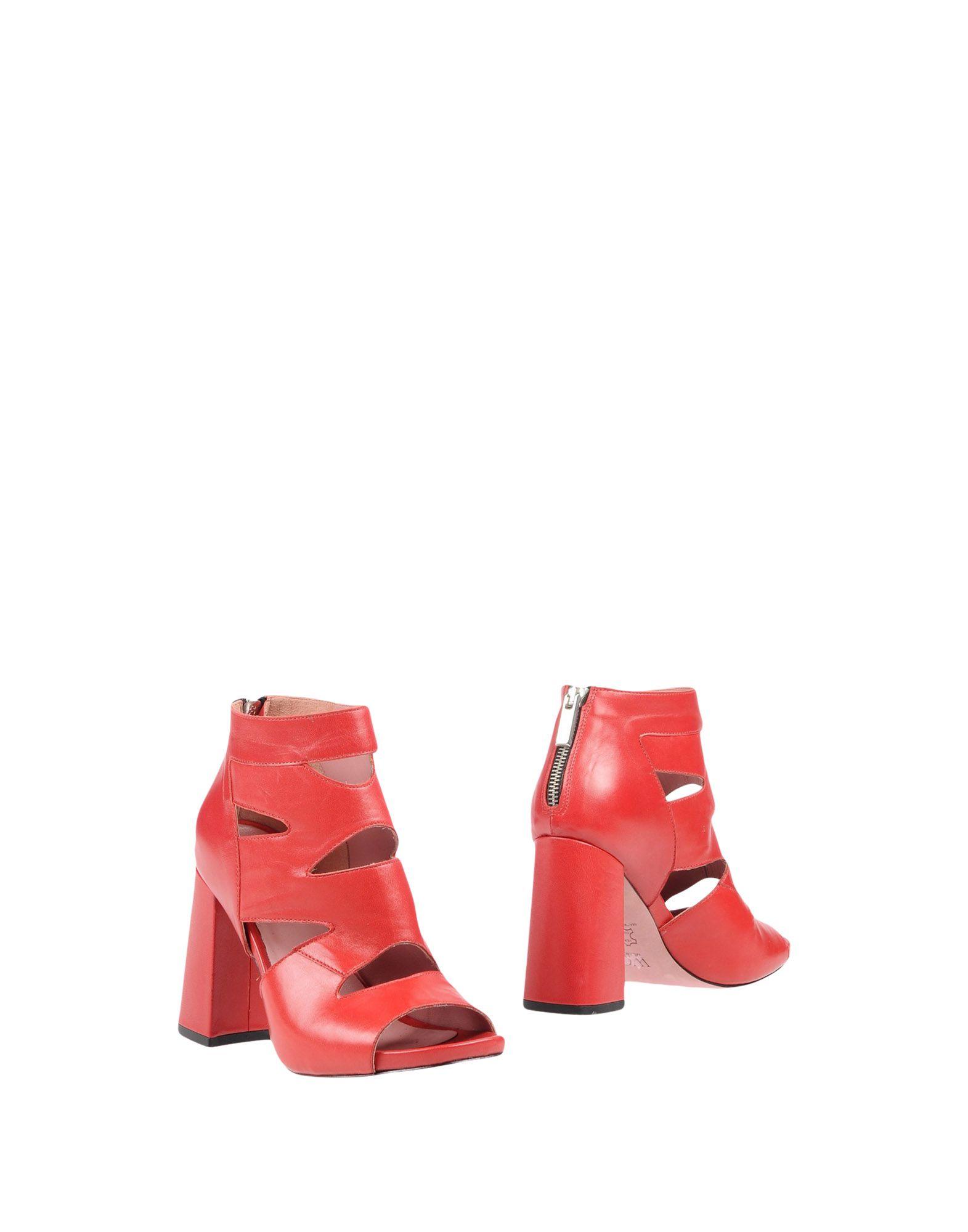 WO MILANO Полусапоги и высокие ботинки цены онлайн