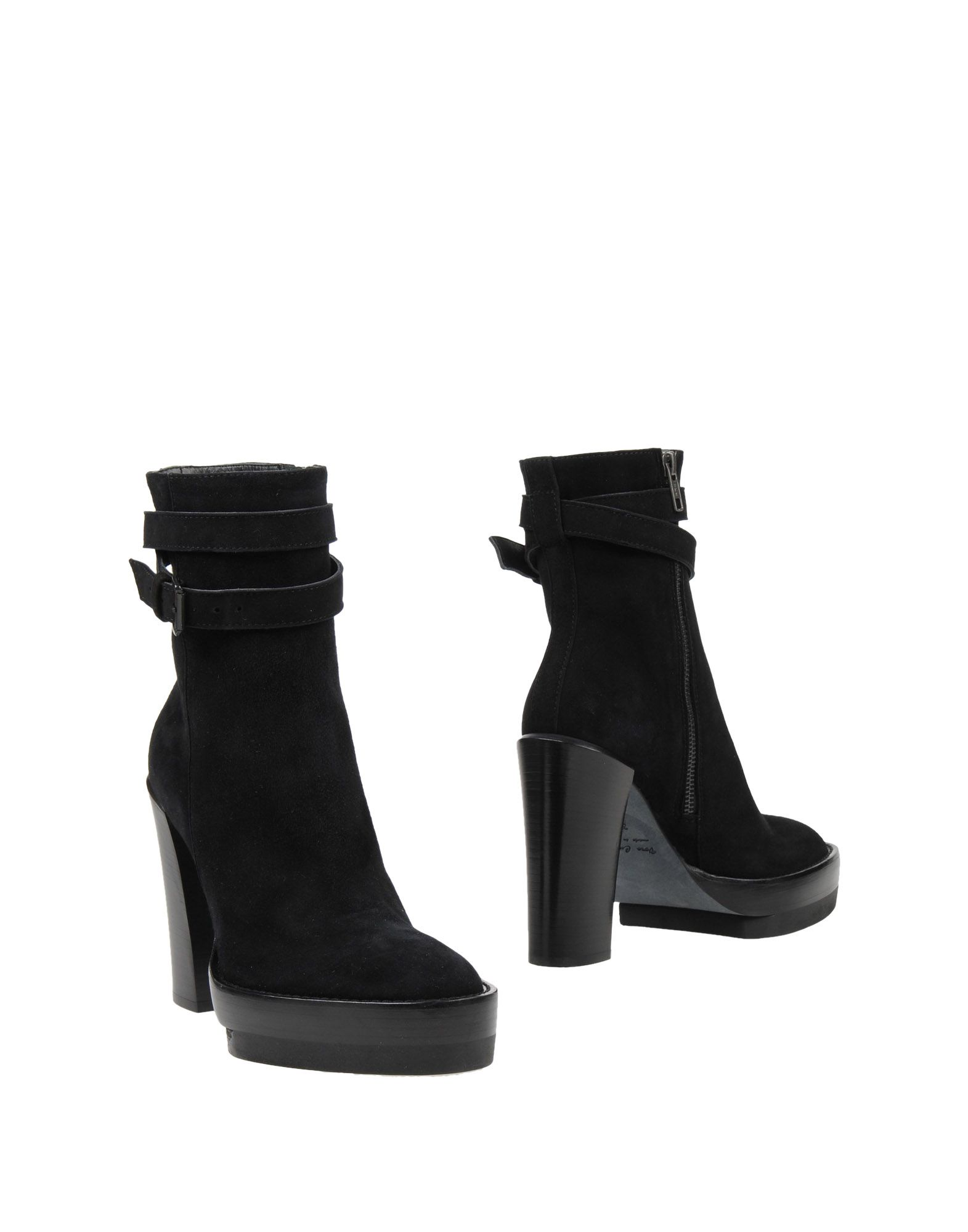 ANN DEMEULEMEESTER Полусапоги и высокие ботинки
