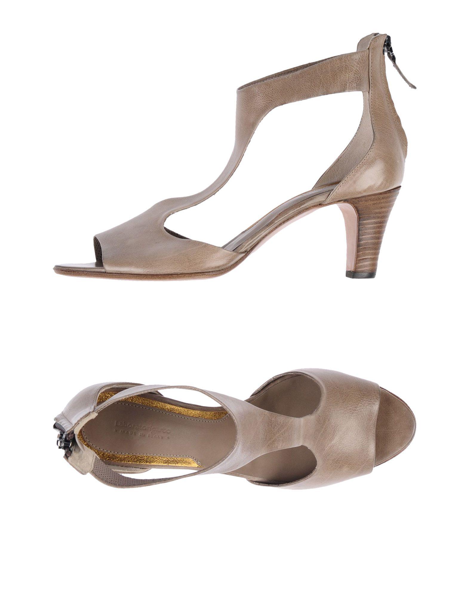 LABORATORIGARBO Sandals in Grey