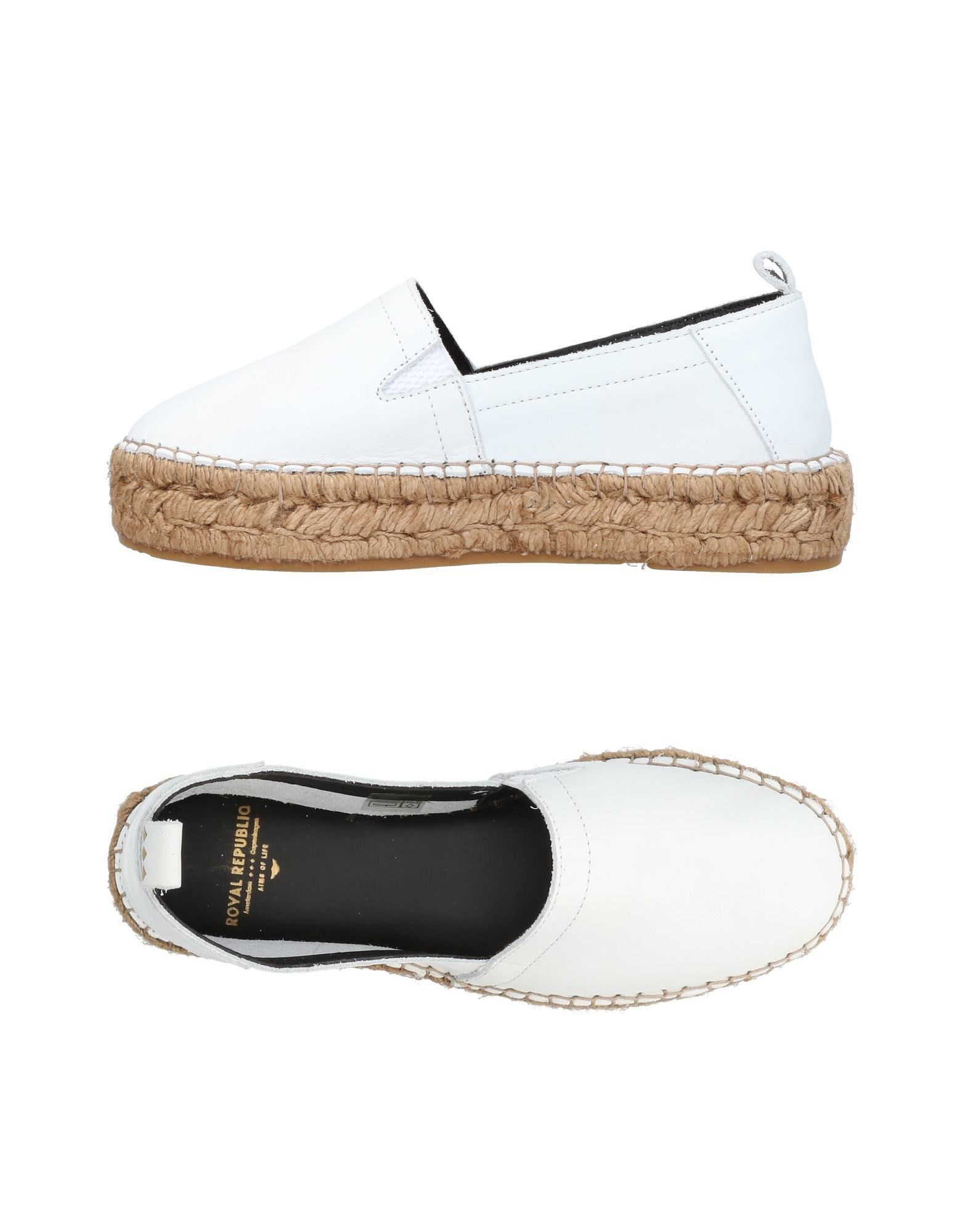 ROYAL REPUBLIQ Espadrilles in White