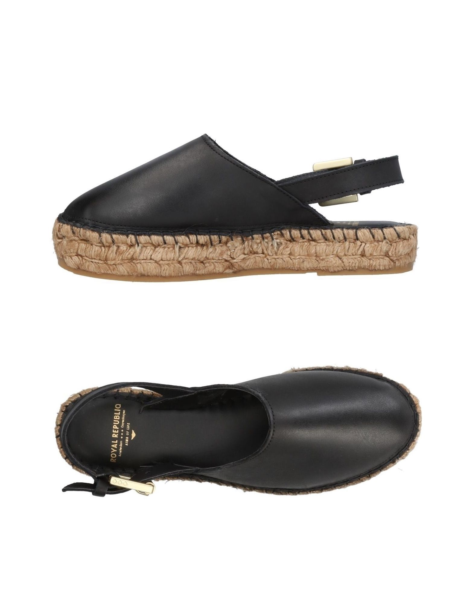 ROYAL REPUBLIQ Espadrilles in Black