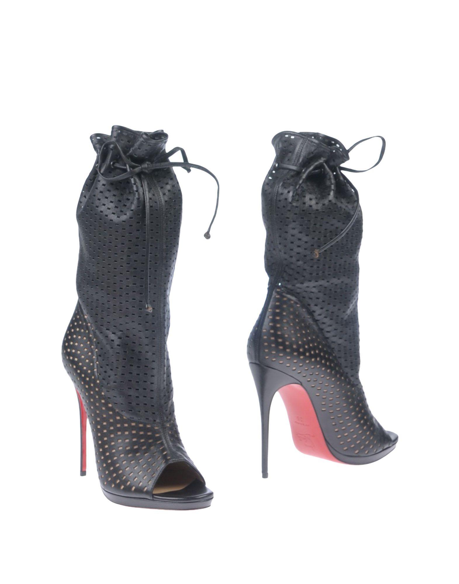 CHRISTIAN LOUBOUTIN Полусапоги и высокие ботинки