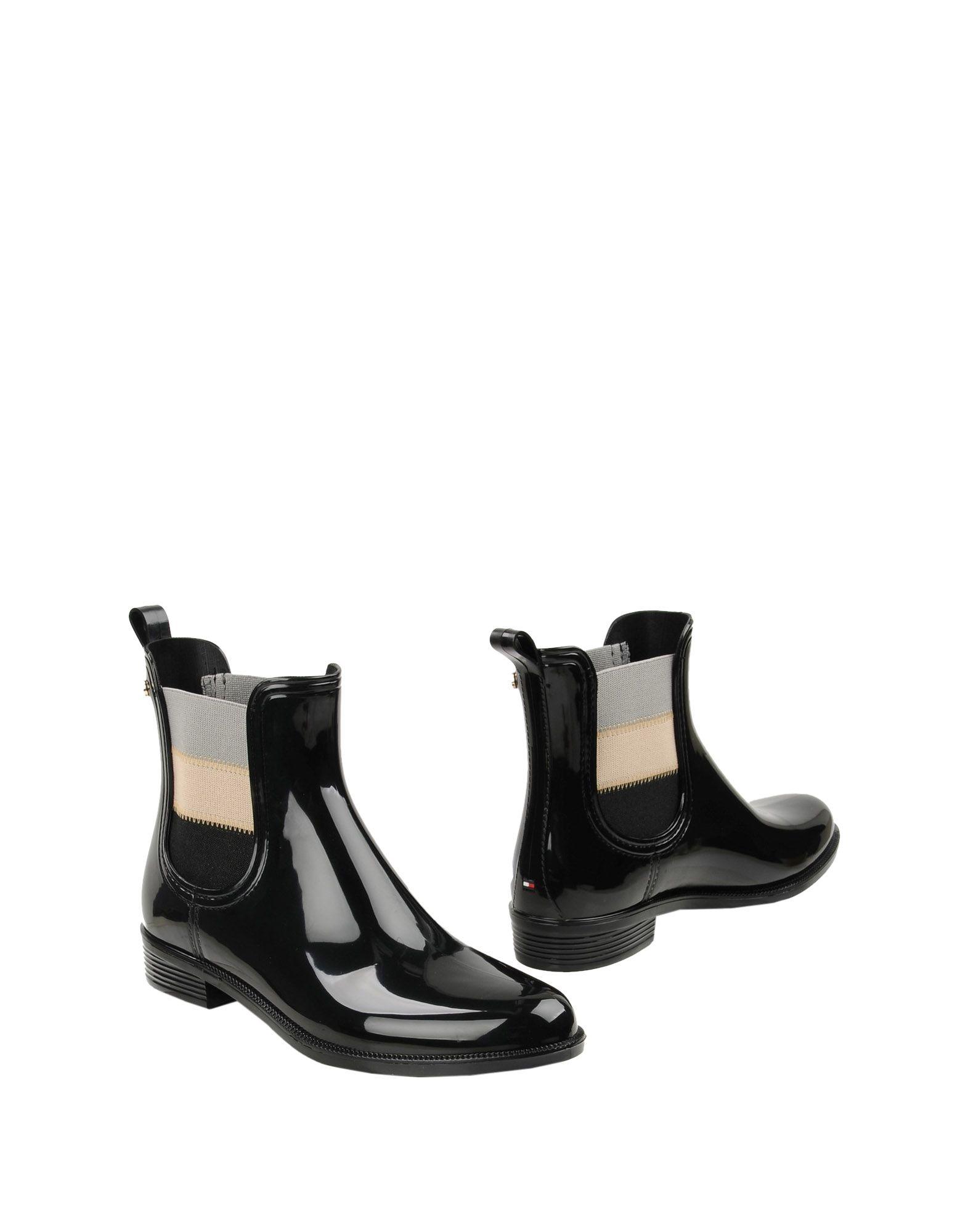 TOMMY HILFIGER Полусапоги и высокие ботинки