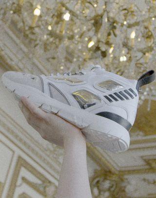 VLTN VALENTINO GARAVANI UOMO Heroes Reflex Sneakers Black POLIESTERE 11417644VI