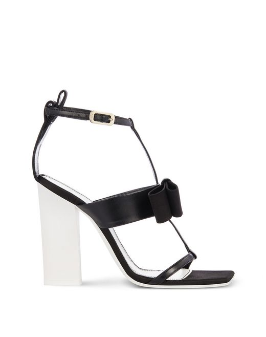 HIGH-HEELED BOW SANDAL - Lanvin