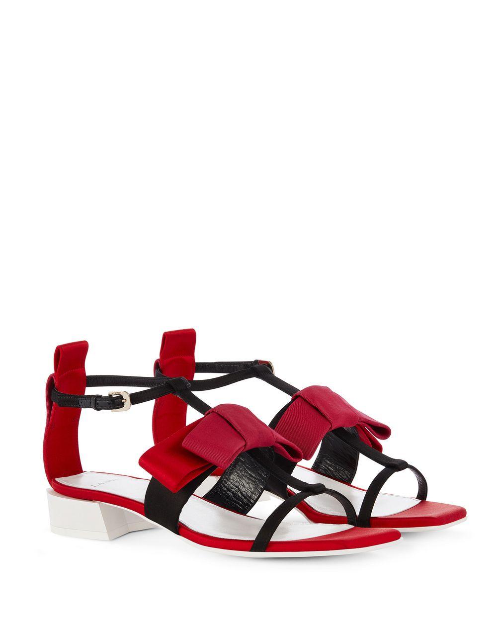sandale plate n ud lanvin sandale femme boutique en. Black Bedroom Furniture Sets. Home Design Ideas
