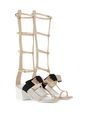 LANVIN Sandals Woman GLADIATOR BOW SANDAL f