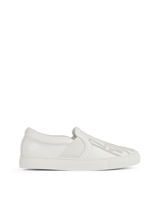 SLIP-ON LOGO PERFORÉ - Lanvin