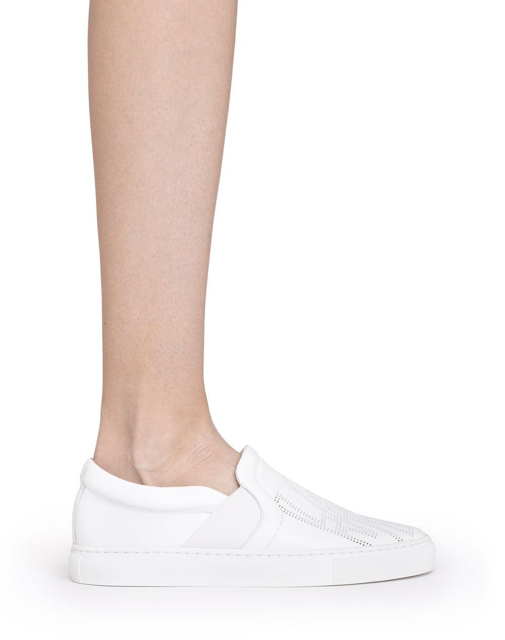 Lanvin PERFORATED LOGO SLIP ONS, Sneakers Women | Lanvin ...
