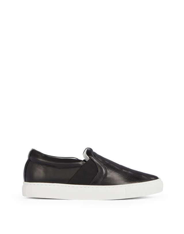 Lanvin PERFORATED LOGO SLIP ONS , Sneakers Women ...