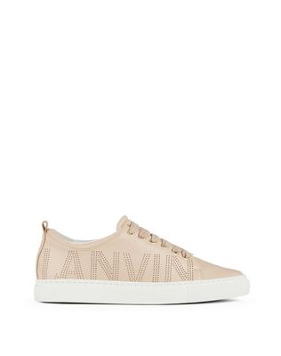 PERFORATED LOGO SNEAKER