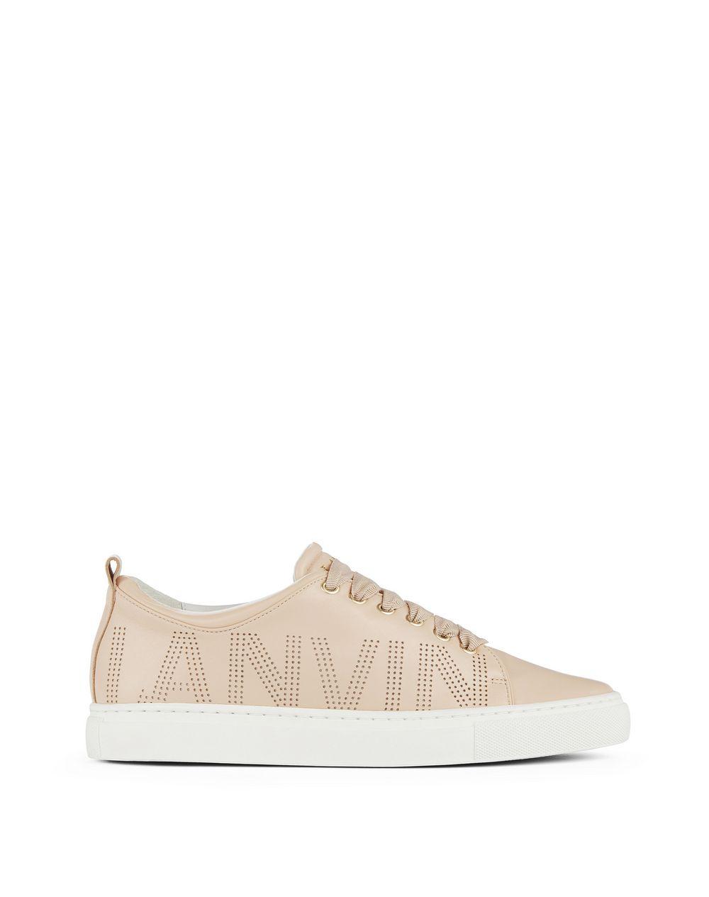 Lanvin PERFORATED LOGO SNEAKER , Sneakers Women ...