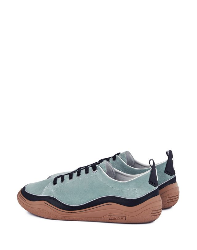 LANVIN SUEDE CALFSKIN LEATHER DIVING SNEAKER Sneakers U d