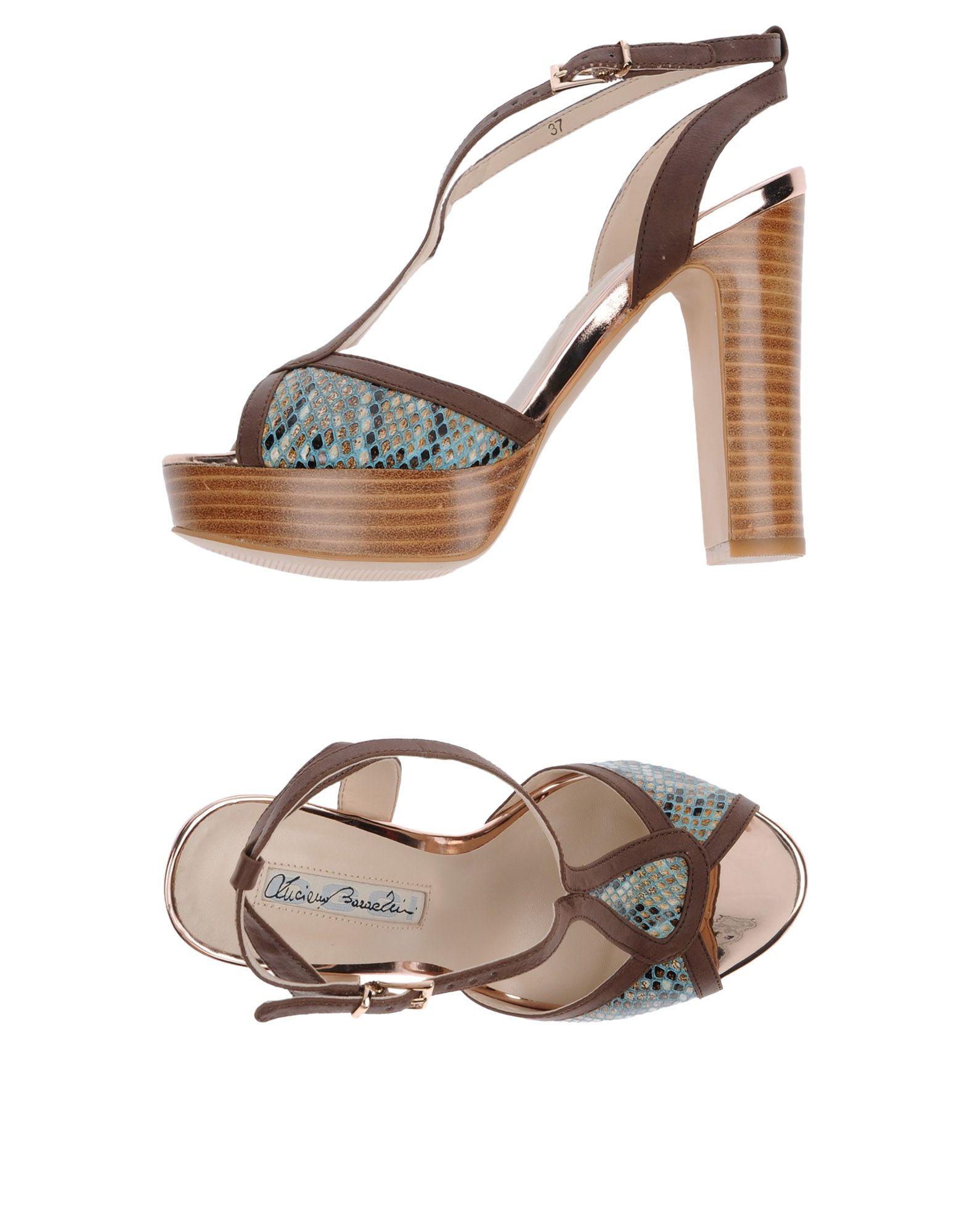 LUCIANO BARACHINI Сандалии luciano barachini сандалии