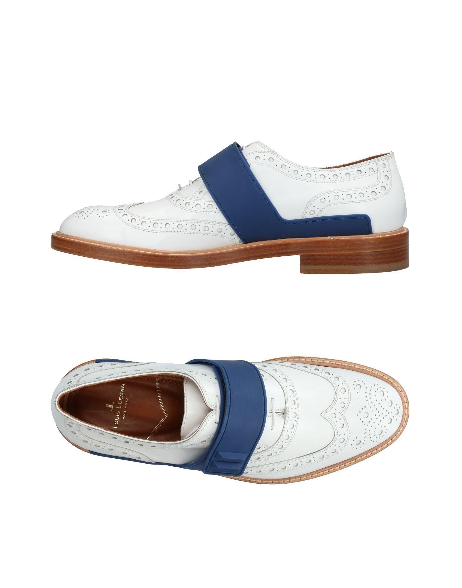 LOUIS LEEMAN Обувь на шнурках louis gerardier le bottier обувь на шнурках