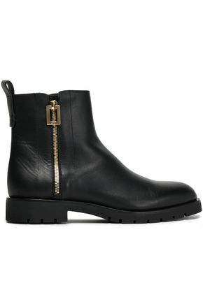 Roger Vivier Leather Ankle Boots With Credit Card For Sale 43PEBf8JKC