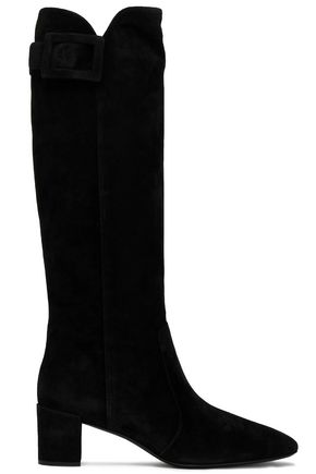 ROGER VIVIER Buckled suede boots