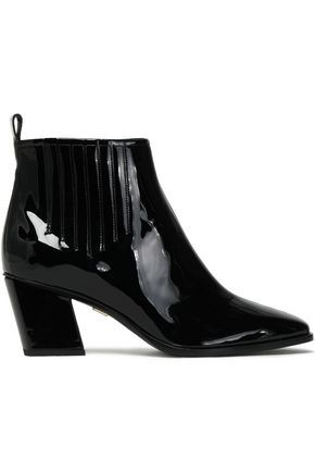 ROGER VIVIER Patent-leather ankle boots