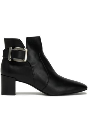 ROGER VIVIER Buckled leather ankle boots