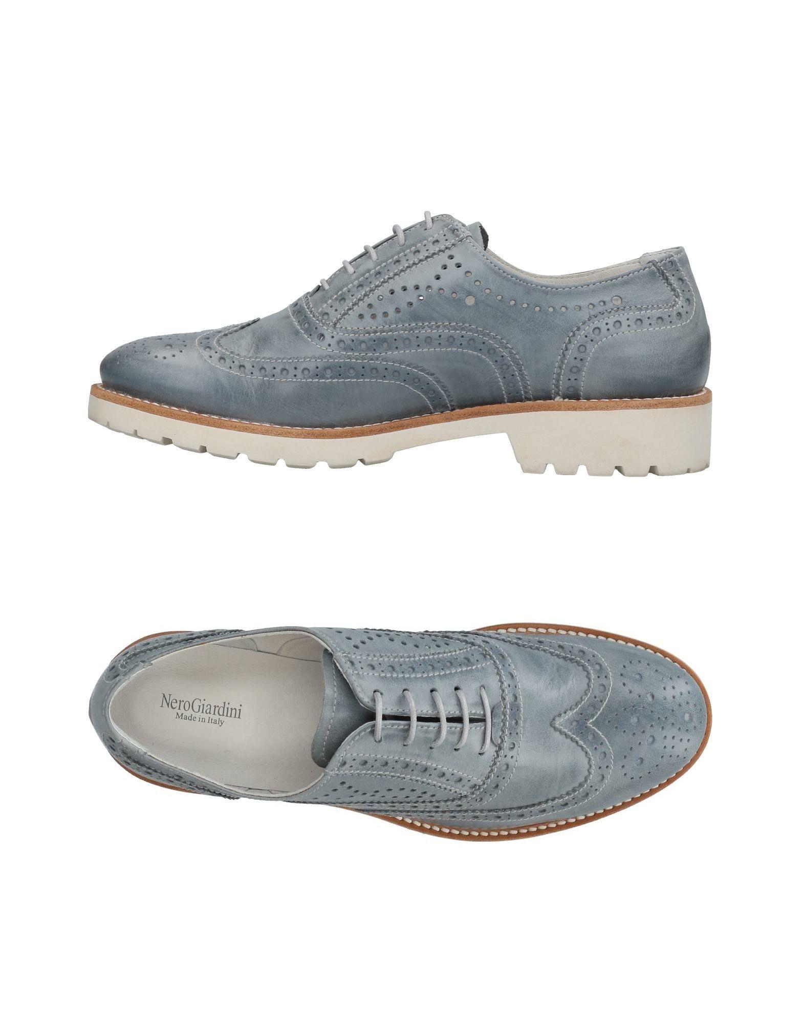 цена NERO GIARDINI Обувь на шнурках онлайн в 2017 году