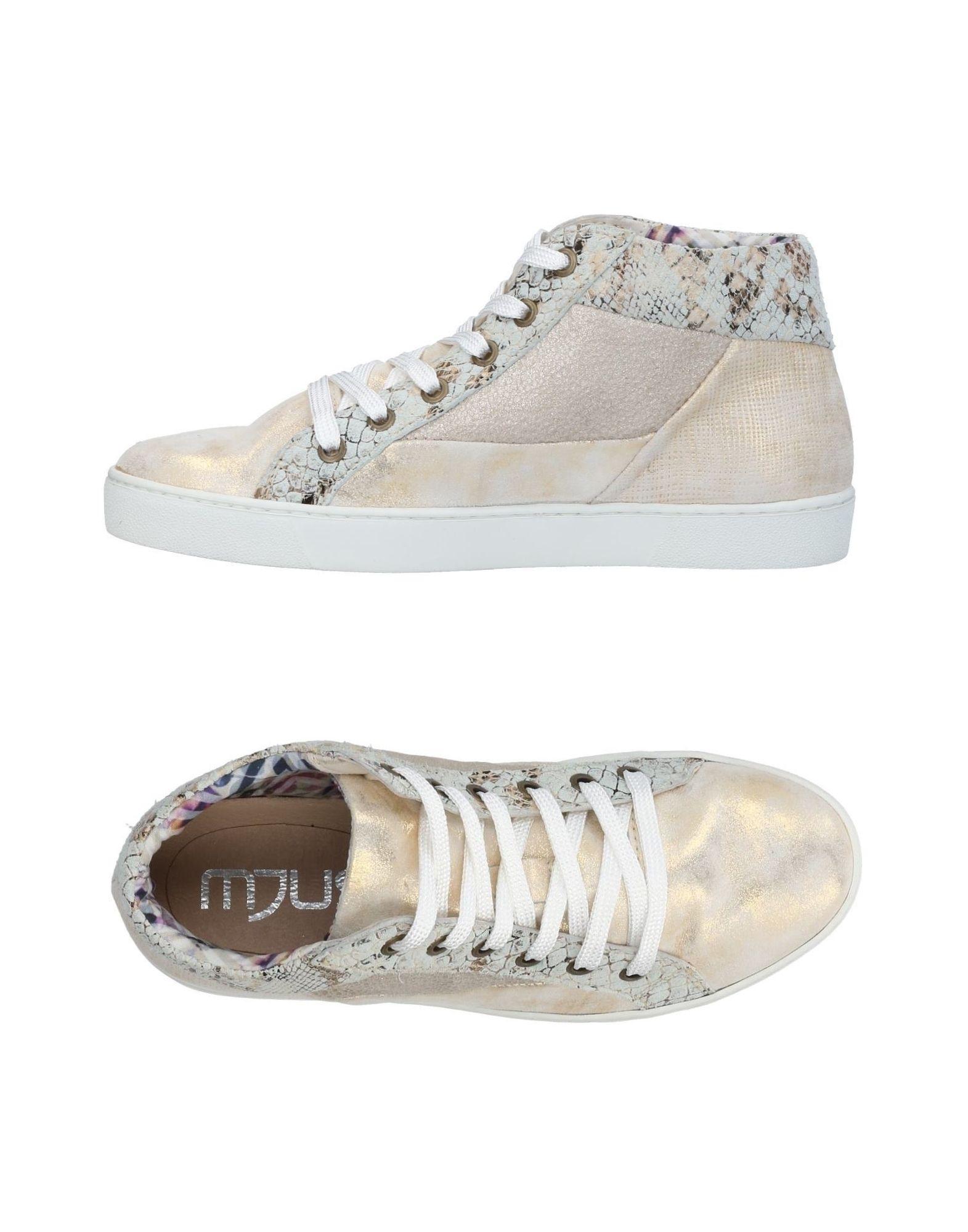MJUS Высокие кеды и кроссовки кроссовки mjus 878104 302 0001 salvia fossile militare