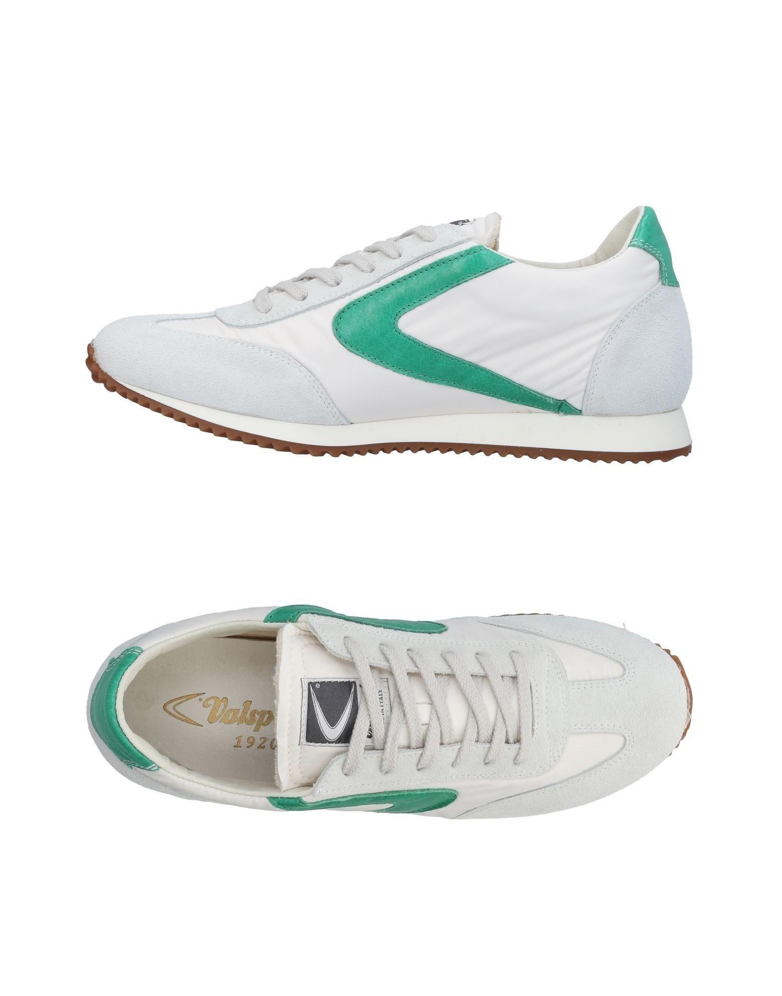 《送料無料》VALSPORT メンズ スニーカー&テニスシューズ(ローカット) ホワイト 41 革 / 紡績繊維