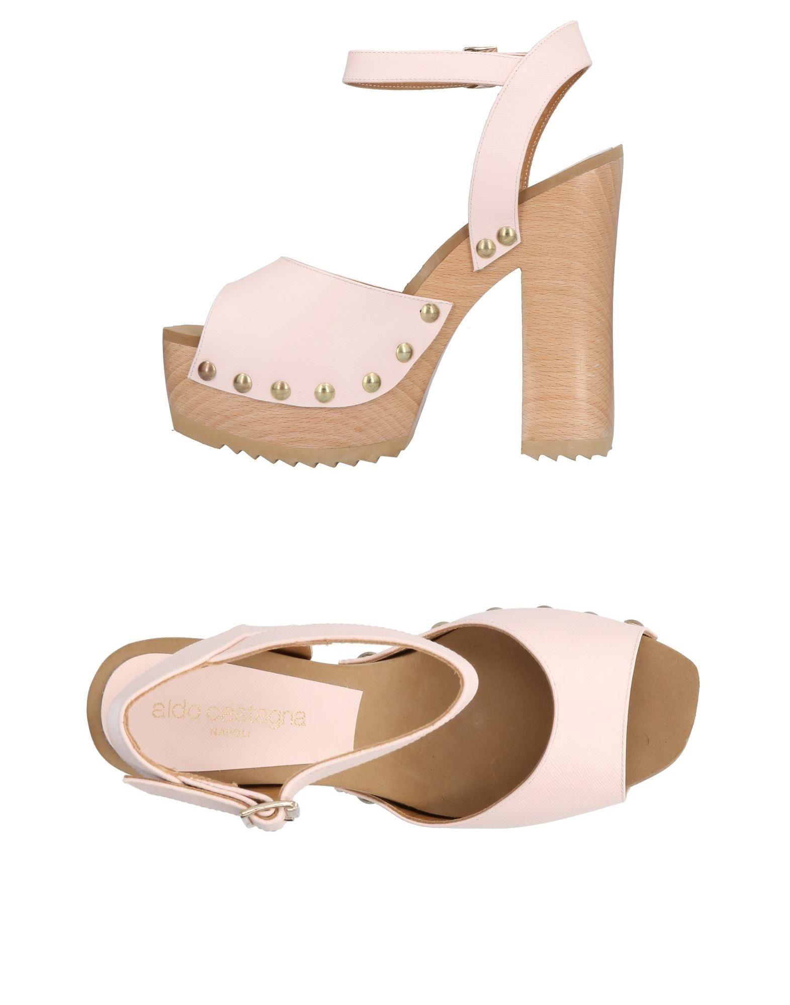 ALDO CASTAGNA Damen Sandale Farbe Hellrosa Größe 13