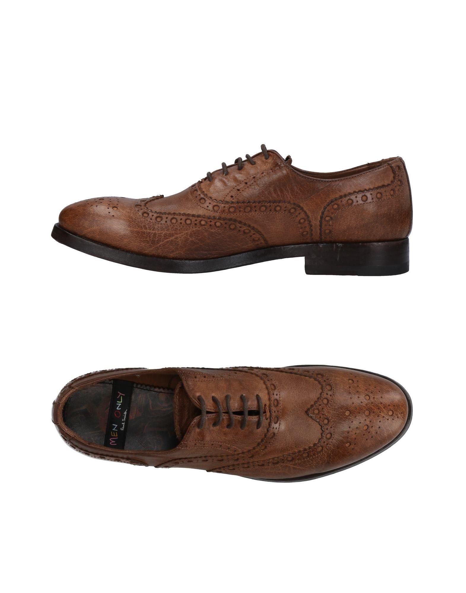 MEN ONLY PAUL SMITH Обувь на шнурках