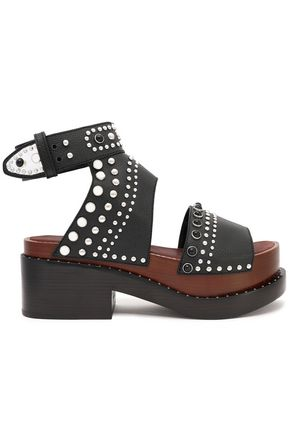 3.1 PHILLIP LIM Studded leather platform sandals