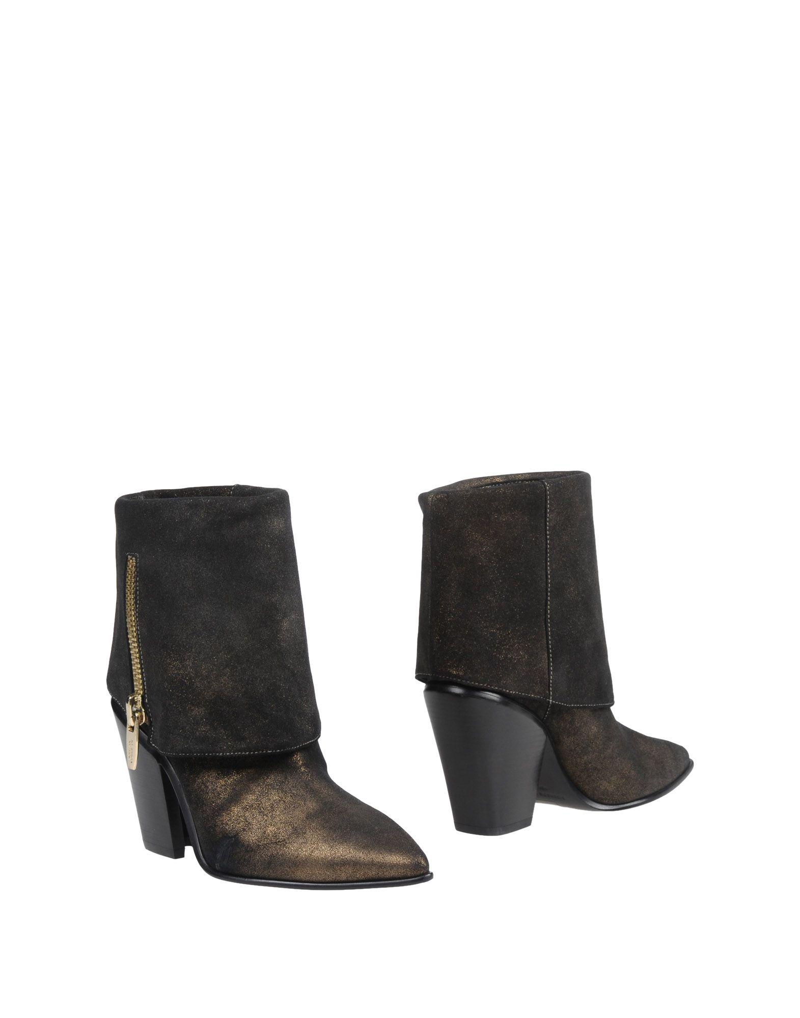 SIGERSON MORRISON Полусапоги и высокие ботинки sigerson morrison мюлес и сабо