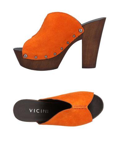 Zoccoli Arancione donna VICINI Mules&Zoccoli donna